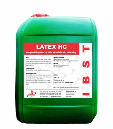 Latex HC (IBST) PHỤ GIA CHỐNG THẤM VÀ TÁC NHÂN KẾT NỐI LATEX