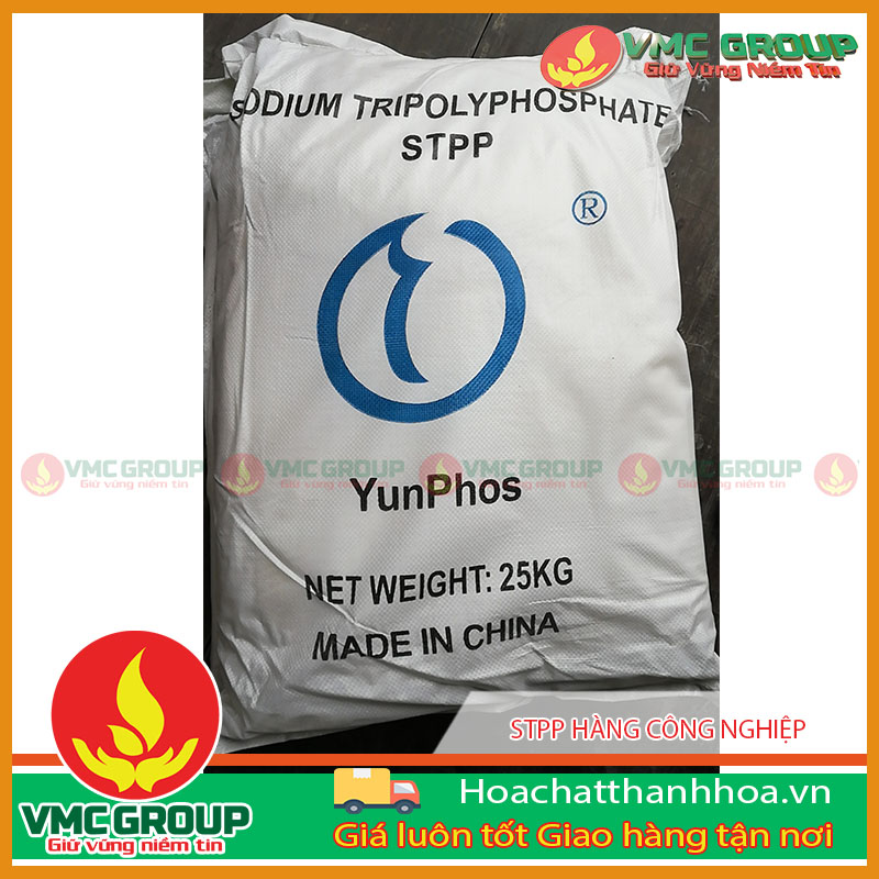 SODIUM TRIPOLYPHOSPHATE (STPP CÔNG NGHIỆP)