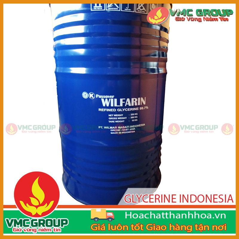 GLYCERINE PHUY 250KG - HÀNG INDONESIA