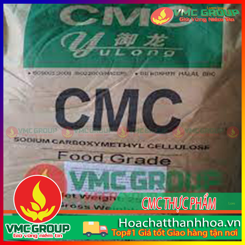 BỘT CMC – SODIUM CARBOXYMETHYL CELLULOSE